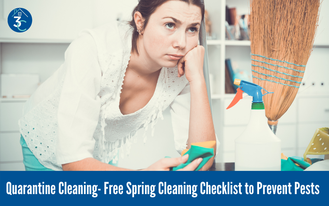 Quarantine Cleaning: Free Spring Cleaning Checklist to Prevent Pests